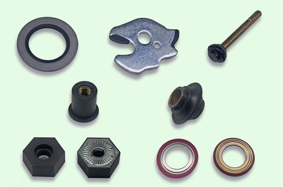 Metal rubber products